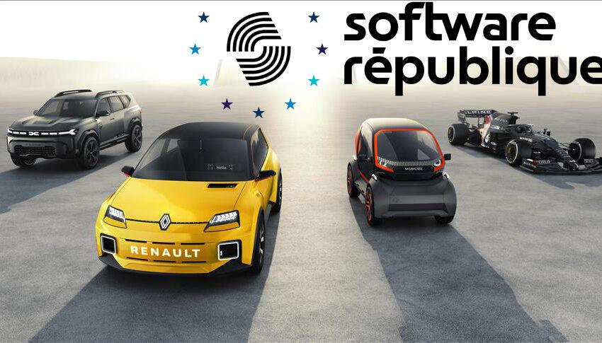 """Renault Grubu """"Software République"""" için işbirliğine gitti"""