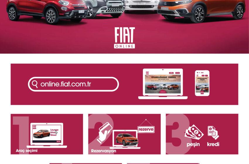 """Fiat'tan """"Sıfır Temas"""" ile otomobil alma kolaylığı"""
