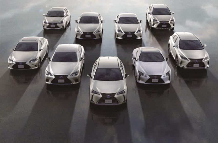 Lexus'dan 2 milyon elektrik motorlu araç satışı