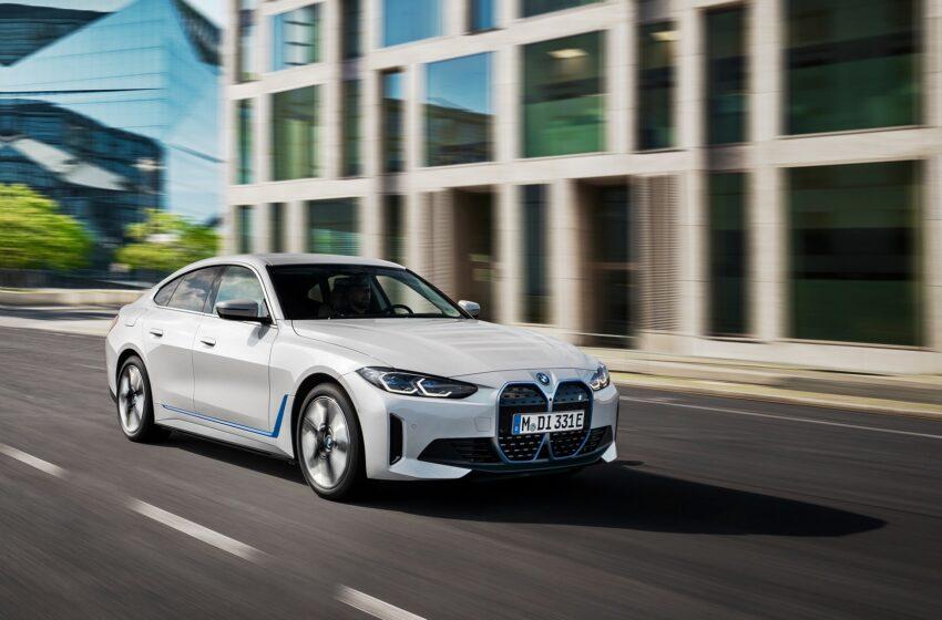 BMW i4'ün teknik detayları açıklandı