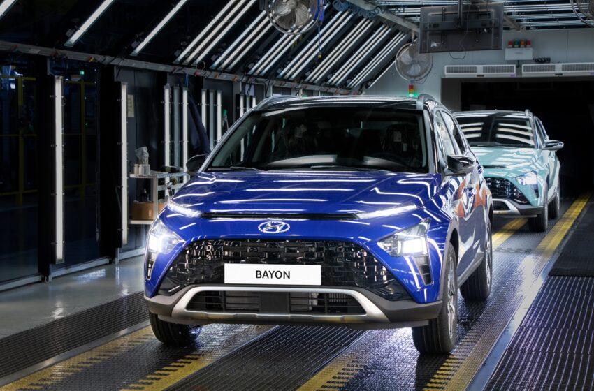 İzmit'te Hyundai BAYON üretimi başladı