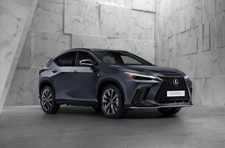 Lexus yeni NX SUV'u tanıttı