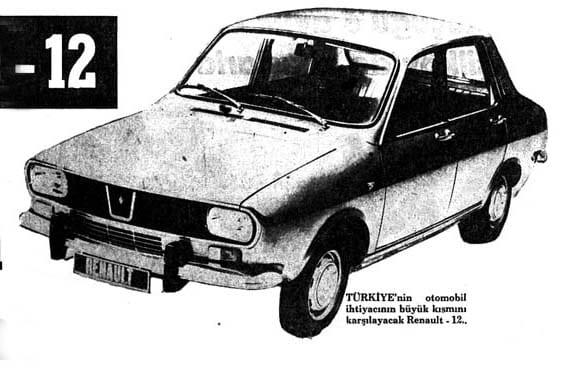 Renault 12 satışı 41 yıl önce bugün başlamıştı