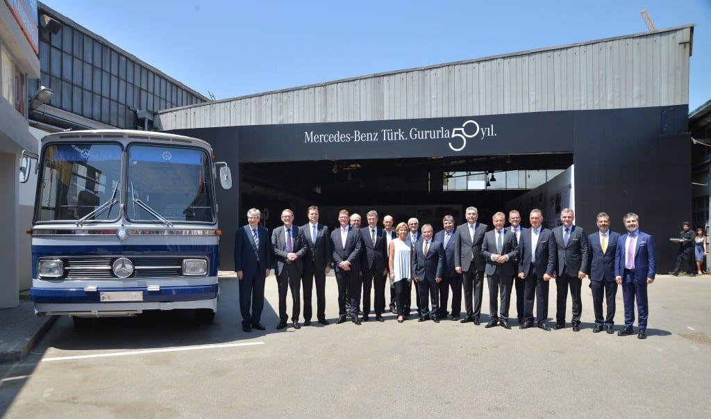 Mercedes-Benz Türk 50. yılını kutluyor 2