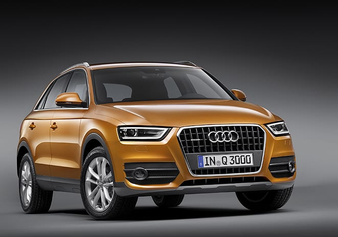Audi Q3 bayilerde