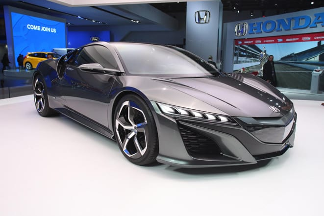VIDEO Acura NSX Concept