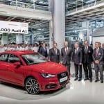 Jubilaeum in Bruessel: 500.000ster Audi A1