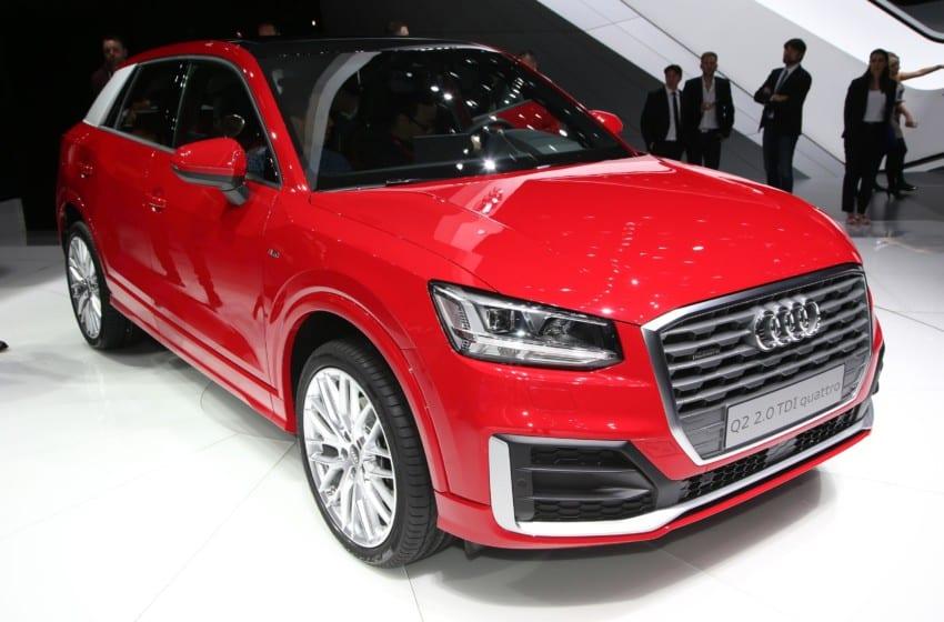 Audi Q2 sahneye çıktı