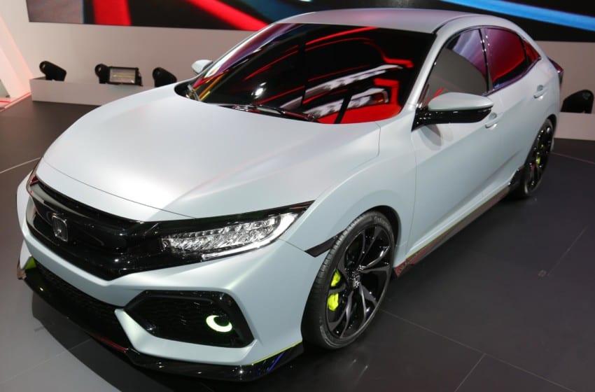 Yeni Civic HB'nin prototipi hazır