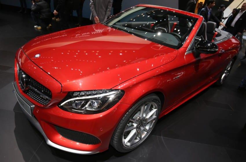 Mercedes yıldızları ışıldadı