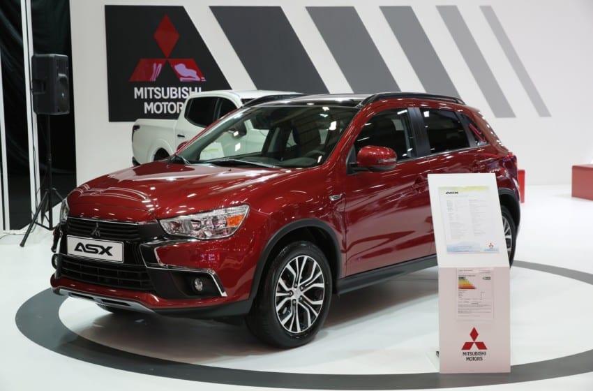 Yenilenen Mitsubishi ASX fuarda dikkatleri topladı