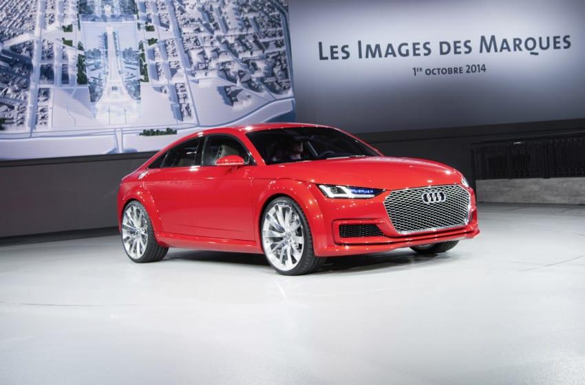 Dört kapılı Audi TT!