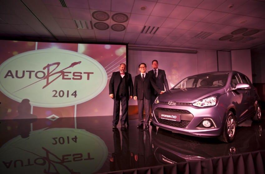 Hyundai i10 Autobest 2014 ödülünü teslim aldı