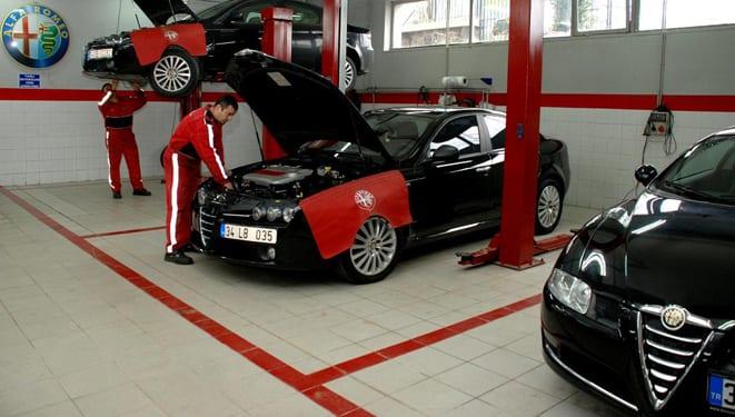 Alfa Romeo'dan servis günleri