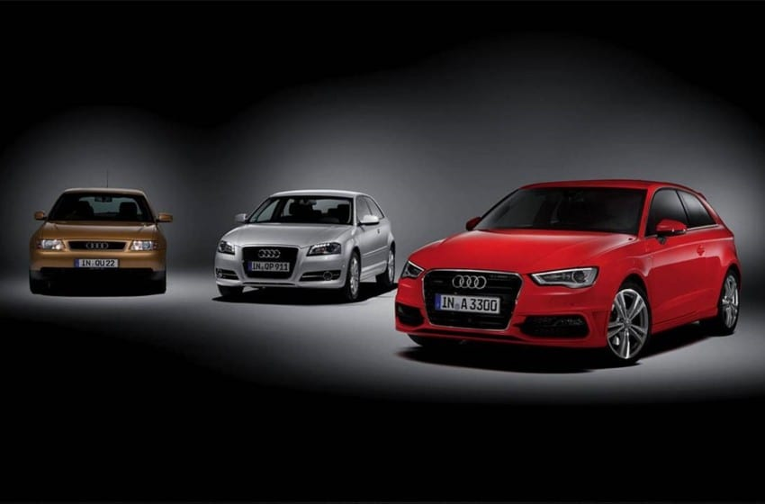 3 milyonuncu Audi A3 üretildi