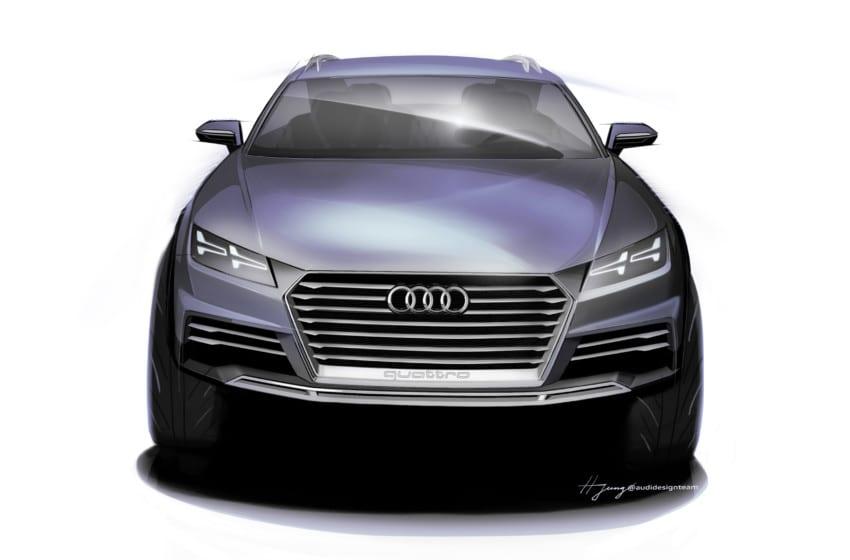 Detroit'e özel: Audi Showcar