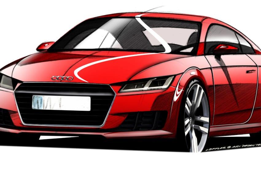 Yeni Audi TT podyuma çıkıyor
