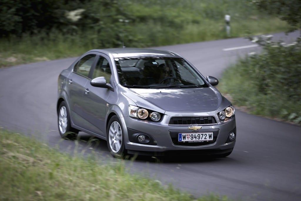 Chevrolet Aveo sedan www.e-motoring.com