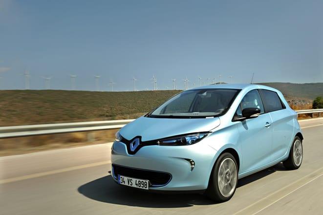 Renault Zoe www.e-motoring.com