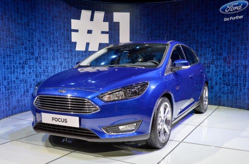 Cenevre'deki Ford timi
