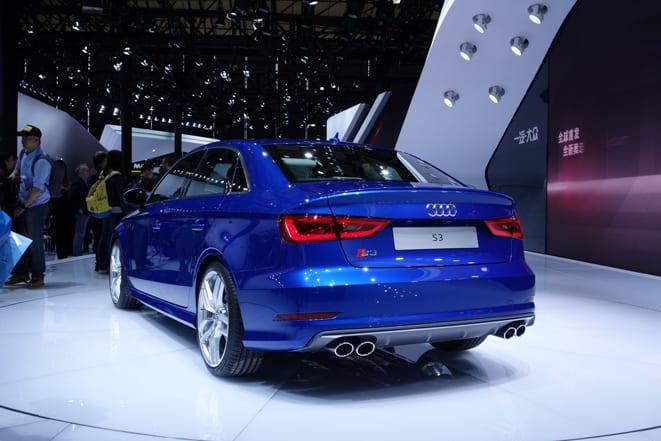 Audi A3 Sedan www.e-motoring.com