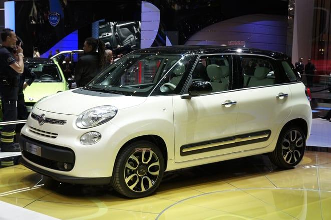 Fiat 500 büyüdü:500L