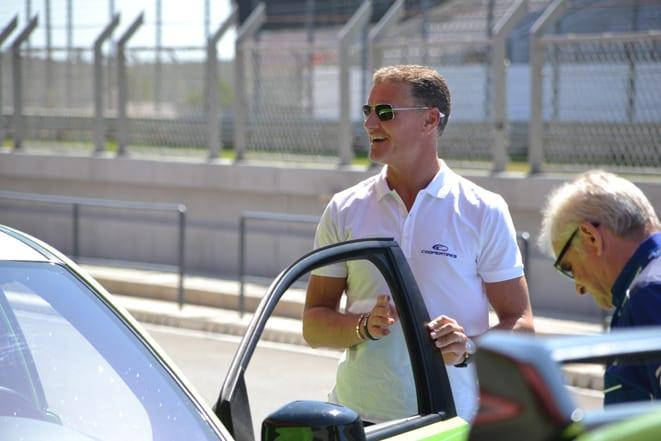 Cooper Zeon CS Sport'u Coulthard tanıttı