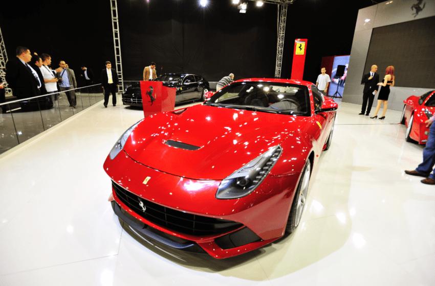 En hızlı Ferrari fuarda