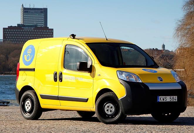 İsveç Posta İdaresi'nin tercihi yine Fiat Fiorino