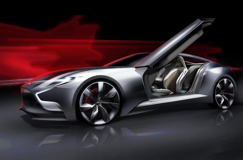 Geleceğin coupe konsepti