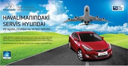 Havaalanlarında Hyundai servisi!