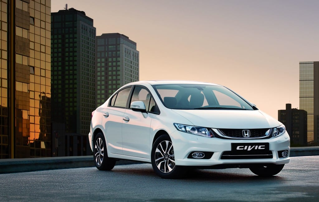 Honda Civic Sedan www.e-motoring.com