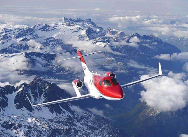 HondaJet'e uçuş sertifikası