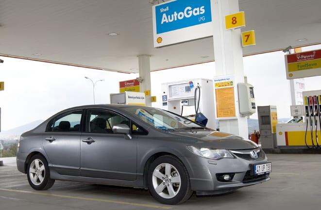 Honda, Shell AutoGas'ı öneriyor