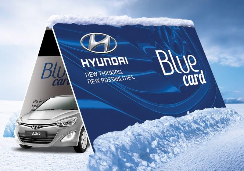Hyundai'de kışa girerken Blue Card Servis Avantajları