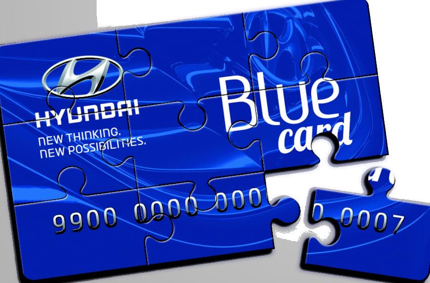 Hyundai Blue Card avantajları