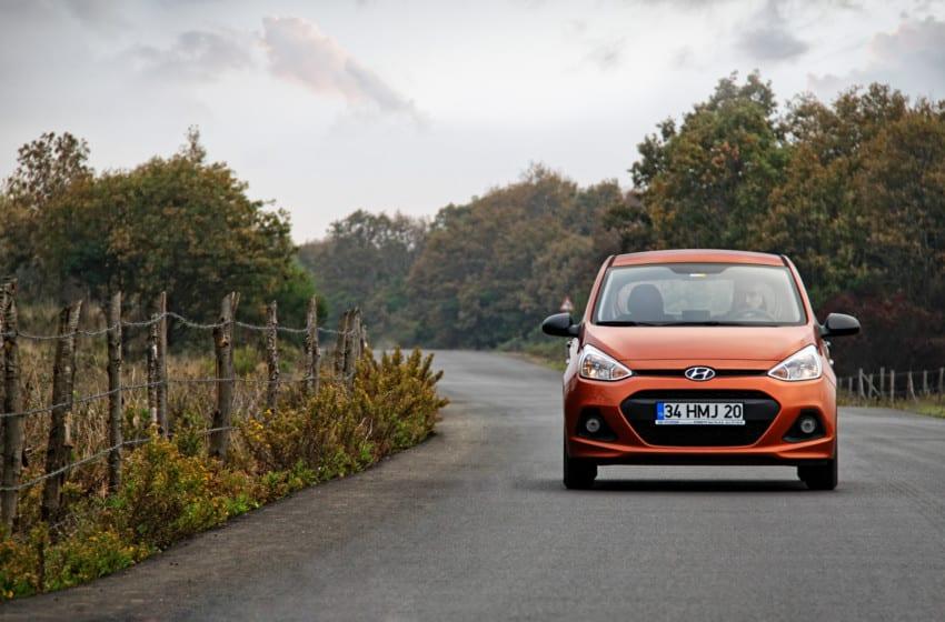Hyundai i10'da otomatik vites konforu
