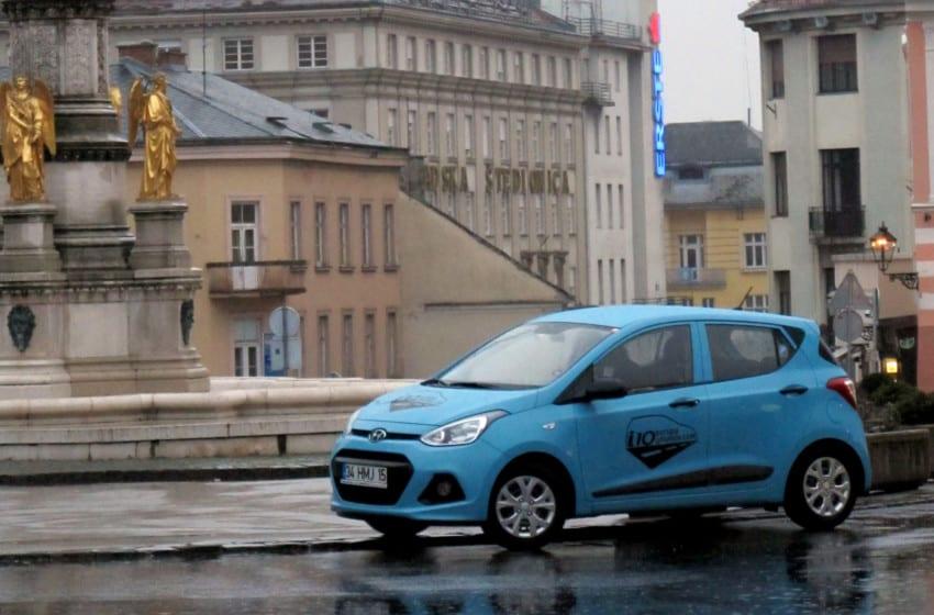 Hyundai i10 Avrupa yolunda