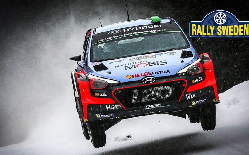 i20 WRC İsveç'te de podyumdaydı