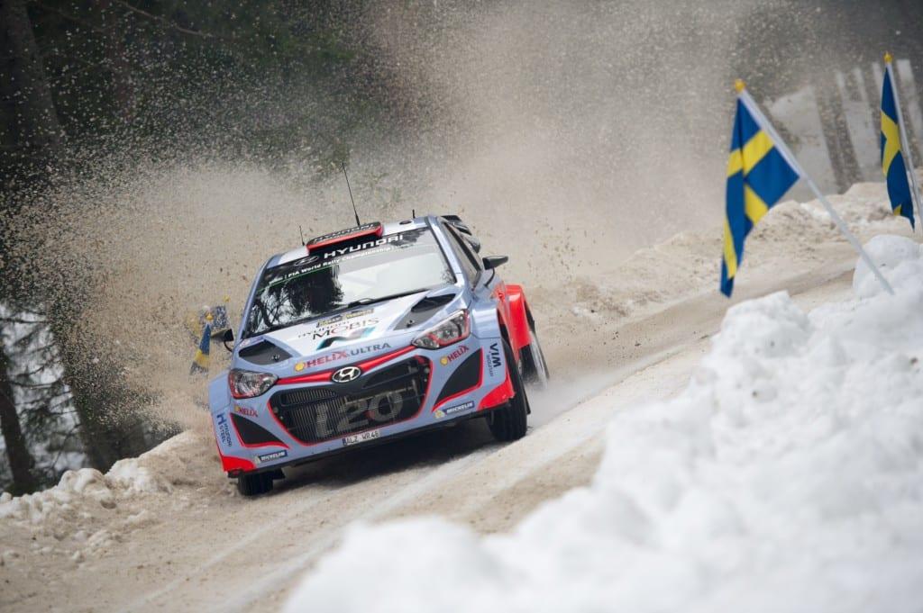 Hyundai i20 WRC H. Paddon
