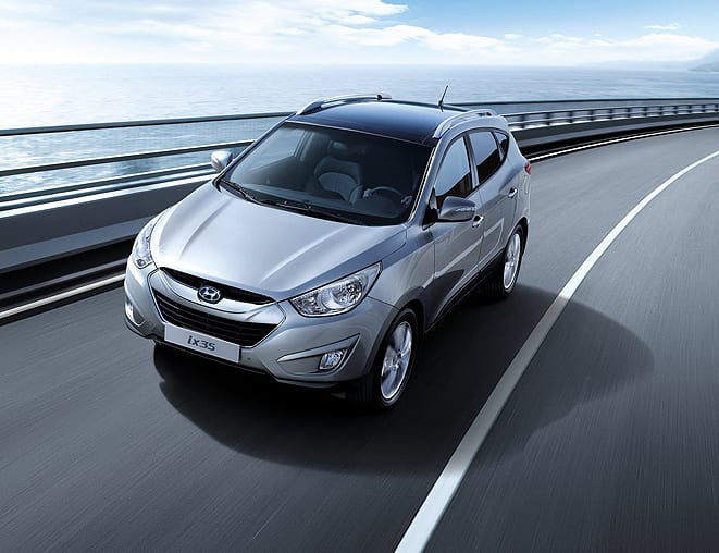 Hyundai ix35'te akıllı park standart!