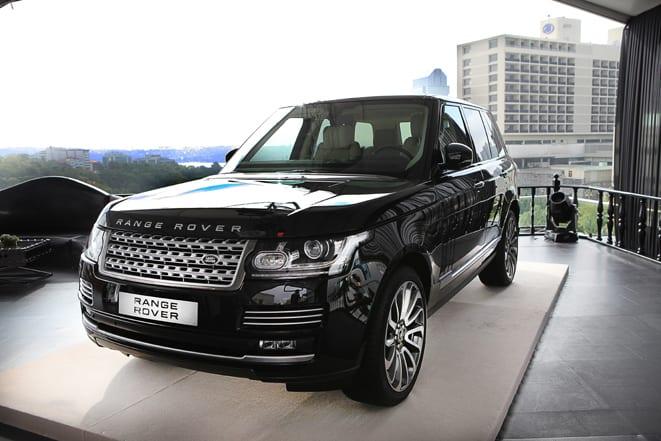 Yenilenen Range Rover Türkiye'de