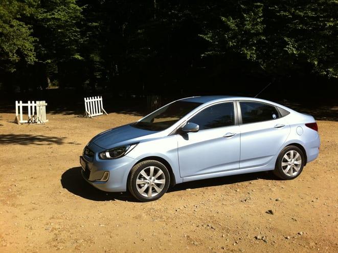 Hyundai Accent Blue 1.4