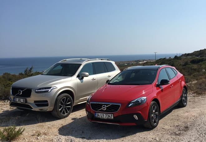 Volvo XC90 & V40