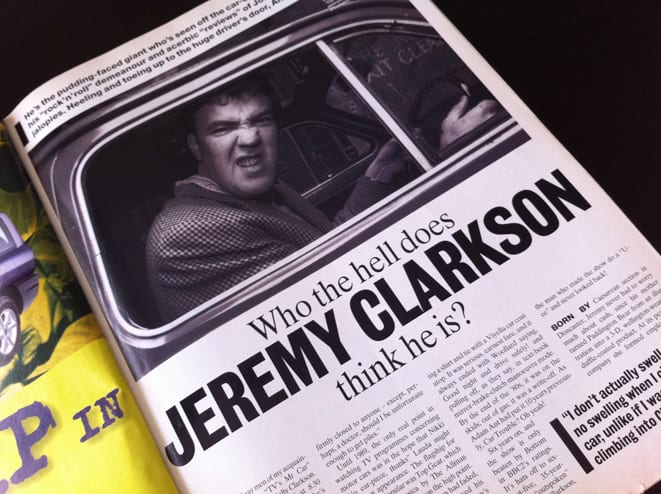 Yine pot yine Clarkson!