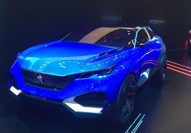 Peugeot'nun Autoshow aslanları
