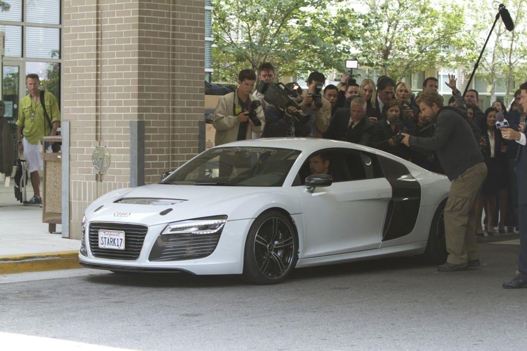 Iron Man Audi R8 e-tron www.e-motoring.com