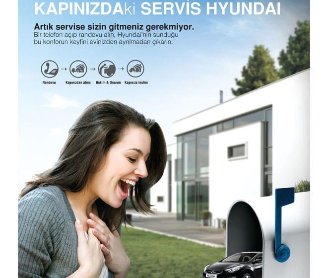Hyundai'den eve servis