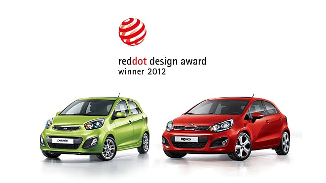Picanto ve Rio'ya Red Dot