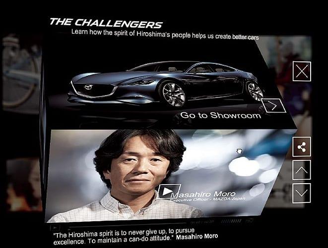 """Mazda'nın """"Alışılmışa Meydan Oku"""" reklamına ödül"""